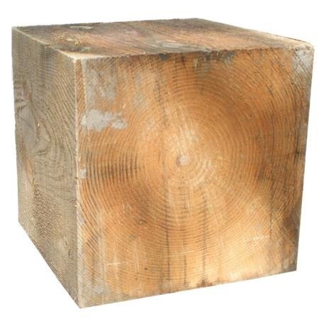 Douglas Fir Cube Feature
