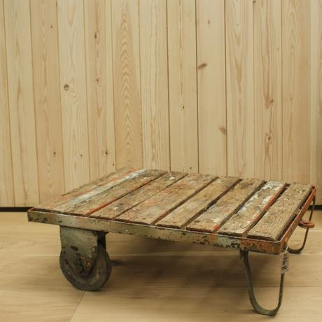 Reclaimed Trolley Coffee Table No8