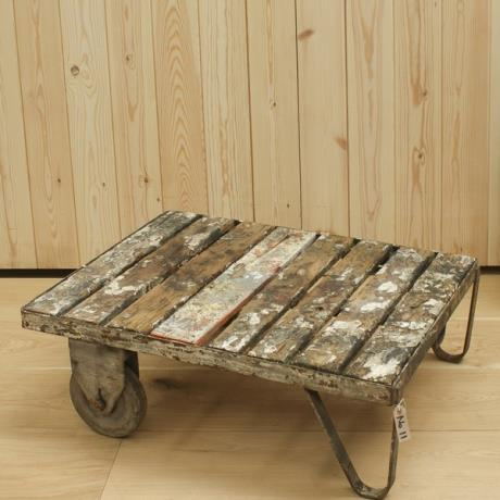 Reclaimed Trolley Coffee Table No11