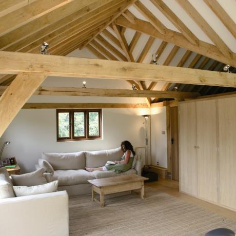 Dual purpose garden building / Timber Frame / Wood Frame / home House Building / Extension