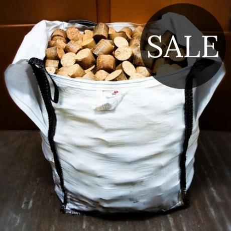 *SALE* Bulk bag of mechanically compressed Eco Nuggets produced from eco-friendly wood waste