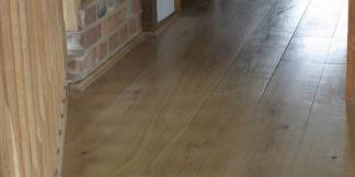 Close up of Engineered Flooring in a home.
