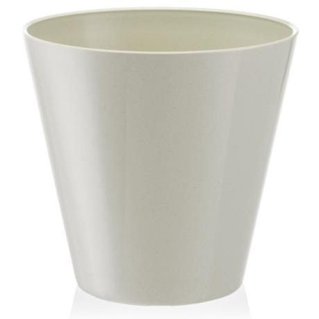 Fiori Estoril Vase Planter  / Home White Herb Pot / Flower Tub Plastic / Small Medium Large / Container