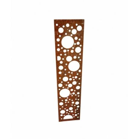 Forosa Corten Steel Decorative Panel Landscape Garden Feature