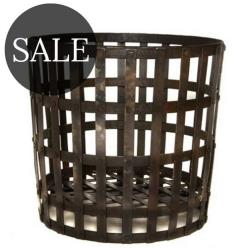 *SALE* Gothic Log Basket