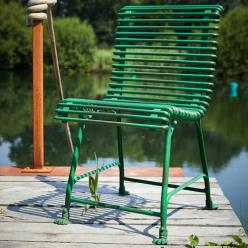 Green Claw Feet Chair