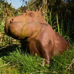 *OUT OF STOCK* Happy Hippo Statue