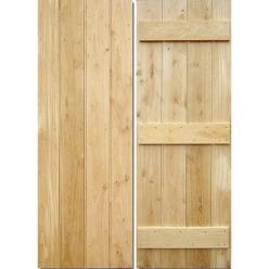 Internal Solid Oak Farmhouse Door