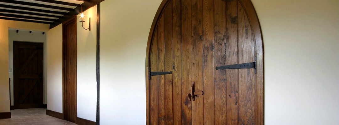Dark Stain Internal Solid Oak Doors