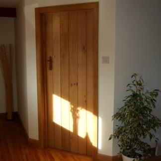 Solid Oak Farmhouse Door