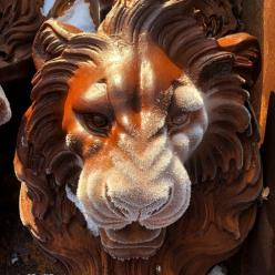 *OUT OF STOCK* Lion Head Fountain Statue