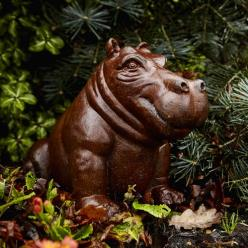 Mini Happy Hippo Statue