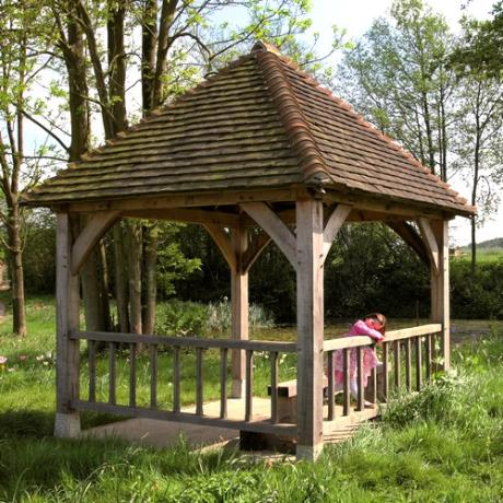 Oak Framed Garden Gazebo Structure