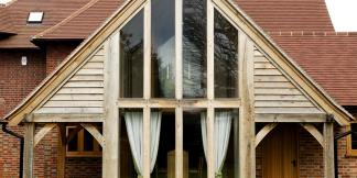 Oak Frame House Extension