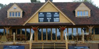 Oak Framed Mayfield Cricket Club Pavilion