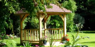 Oak Framed Garden Gazebo