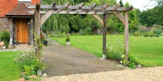 Oak Framed Garden Pergola