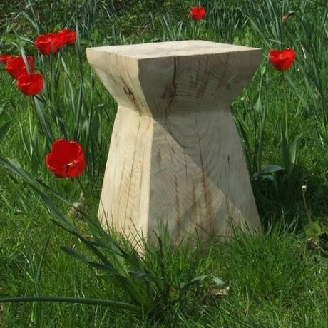 Pictured: Oak Plinth
