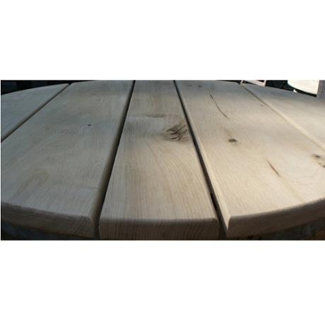 French Oak Wine Barrel Table Garden Bar Table Top Feature