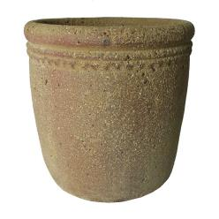 Old Ironstone Cylinder Planter