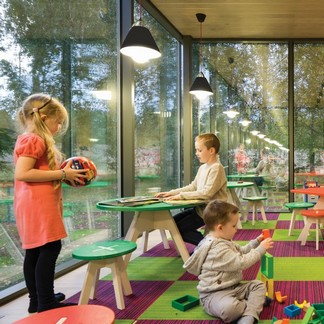 ÖÖD Houses & Rooms provide a bright and safe area which is ideal for use as a playroom.