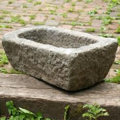 Granite Rectangular Trough Planter