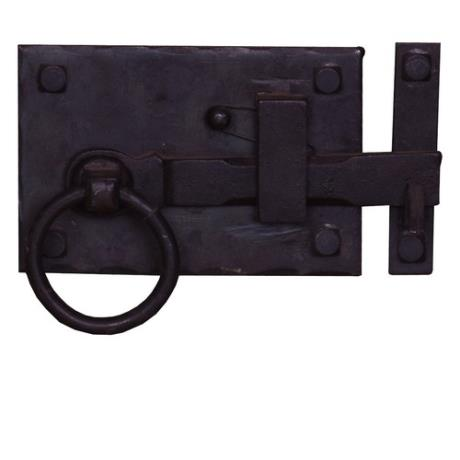 Right Sided Traditional Wrought Iron Cottage Latch