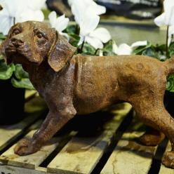 Puppy Dog Statue (Rust or Bronze)