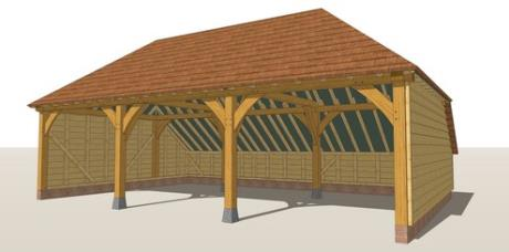RW3H Oak Framed Garage Guide Design