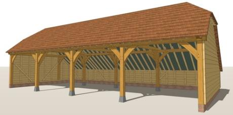 RW4B Oak Framed Garage Guide Design