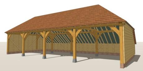 RW4H Oak Framed Garage Guide Design