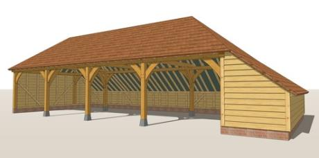 RW4HA Oak Framed Garage Guide Design