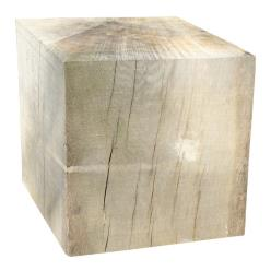 Solid Oak Cube (Various Sizes)