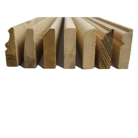 Solid Oak Skirting Board Profiles