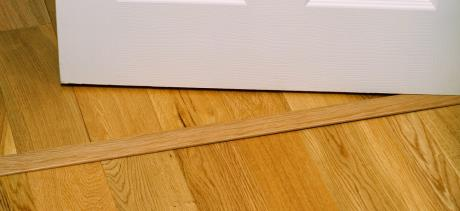Solid Oak Threshold