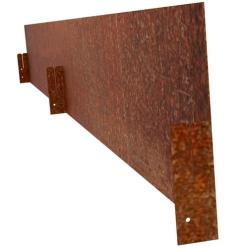 Straight Corten Steel Edging