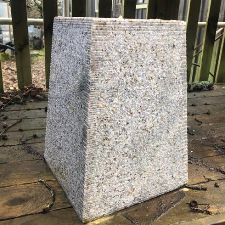 Tall Tapered Granite Staddle Stone