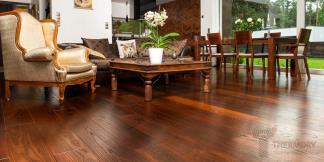 Thermory® Thermo-Treated Ash Intense Flooring