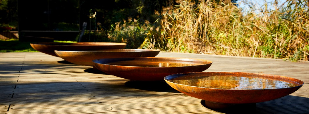 Water Features; Water Bowls, Tables & More
