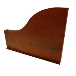 Wrese Corten Steel Wall