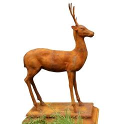 Young Buck Statue